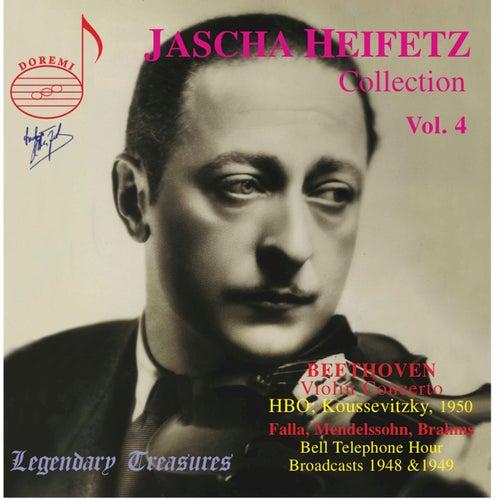 Play & Download Beethoven: Violin Concerto - Falla: Jota, et al. by Jascha Heifetz   Napster