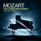 Mozart: The Complete Piano Sonatas by Carmen Piazzini