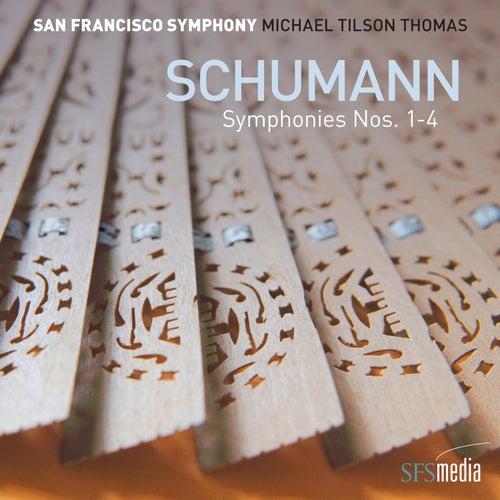 Schumann Symphonies Nos. 1-4 by Michael Tilson Thomas