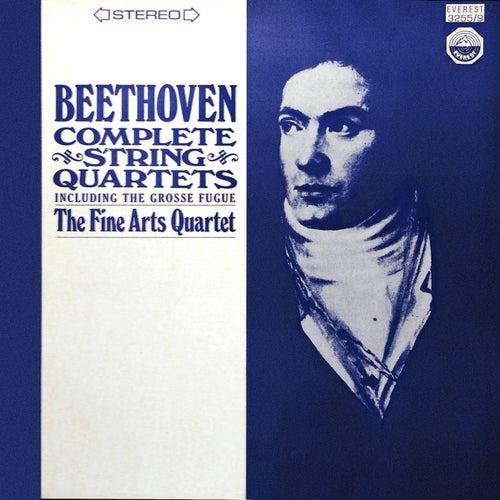 Beethoven: Complete String Quartets including the Grosse Fugue (Digitally Remastered from the Original Concert-Disc Master Tapes) by Fine Arts Quartet