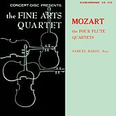 Mozart: The Four Flute Quartets (Digitally Remastered from the Original Concert-Disc Master Tapes) by Samuel Baron