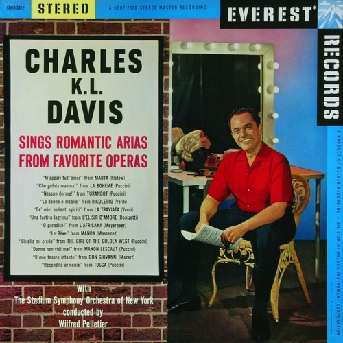 Charles K. L. Davis sings Romantic Arias from Favorite Operas by Charles K. L. Davis