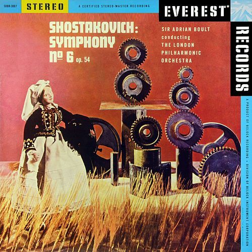 Shostakovich: Symphony No. 6, Op. 54 (Transferred from the Original Everest Records Master Tapes) by London Philharmonic Orchestra