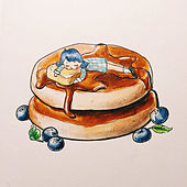 Dreaming Of Blueberry Pancakes by Biosphere