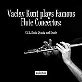 Play & Download Vaclav Kunt plays Famous Flute Concertos: C.P.E. Bach, Quantz and Bende by Prague Chamber Orchestra | Napster