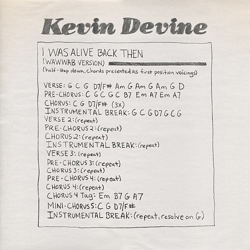 I Was Alive Back Then (feat. Half Waif) by Kevin Devine