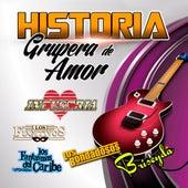 Historia Grupera De Amor by Various Artists