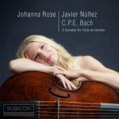 C.P.E. Bach: 3 Sonatas for Viola da Gamba by Various Artists