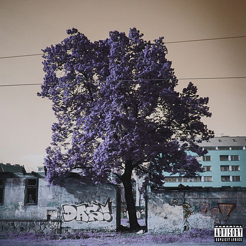 Purple Trees by Dag