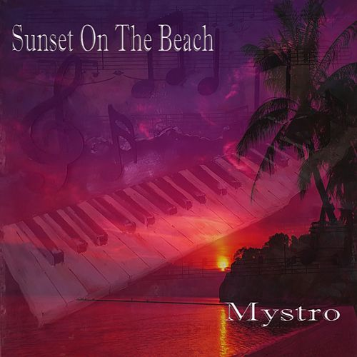 Sunset on the Beach by Mystro
