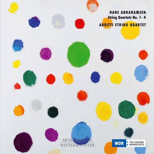 Hans Abrahamsen: String Quartets Nos. 1-4 by Arditti String Quartet