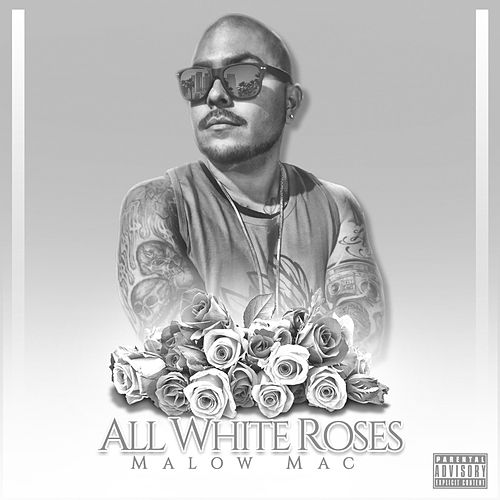 All White Roses by Malow Mac