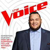 How Am I Supposed To Live Without You (The Voice Performance) von Christian Cuevas