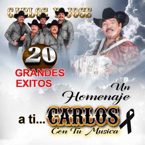 20 Grandes Exitos Un Homenaje A Ti Carlos by Carlos Y Jose