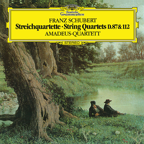 Schubert: String Quartet No.10 In E Flat Major, D.87; String Quartet No. 8 In B Flat Major, D.112 (Op. Post. 168); String Quartet No.9, D.173 by Amadeus Quartet