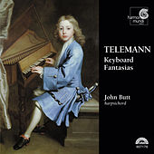 Telemann: Keyboard Fantasias by John Butt