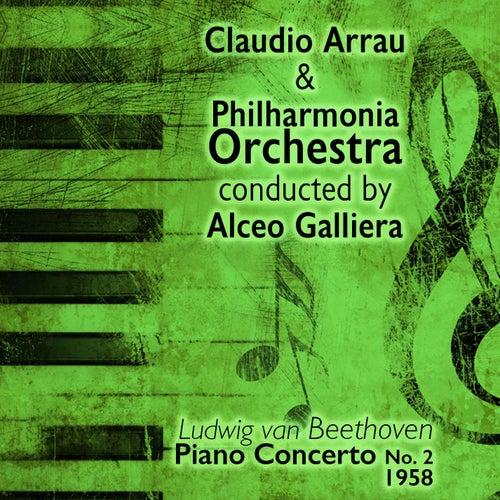 Ludwig van Beethoven - Piano Concerto No. 2 (1958) by Claudio Arrau
