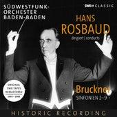 Bruckner: Symphonies Nos. 2-9 by Südwestfunk-Orchester Baden Baden