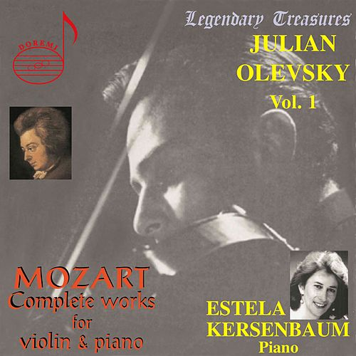 Mozart's Complete Works for Violin & Piano by Julian Olevsky