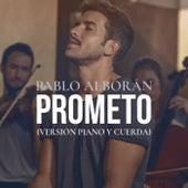 Prometo (Versión piano y cuerda) de Pablo Alboran