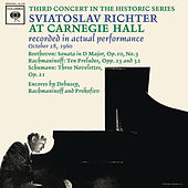 Sviatoslav Richter Recital -  Live at Carnegie Hall, October 28, 1960 by Sviatoslav Richter