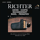 Sviatoslav Richter Recital -  Live at Carnegie Hall, December 26 1960 by Various Artists