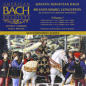 Play & Download Bach: Brandenburg Concertos 1-3 by American Bach Soloists | Napster