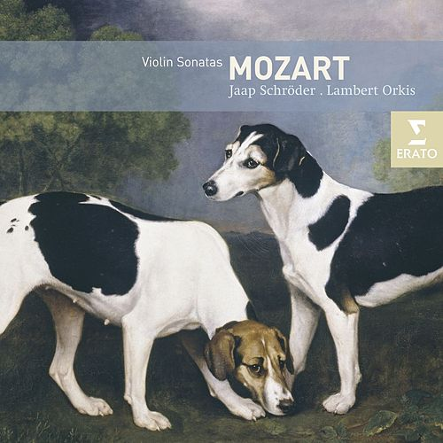 Mozart : Sonatas for violin & pianoforte by Jaap Schröder