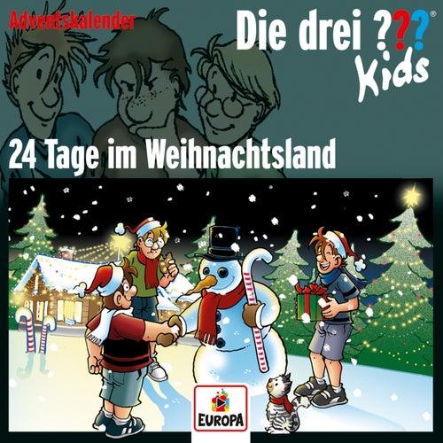 Adventskalender - 24 Tage im Weihnachtsland von Die Drei ??? Kids