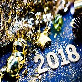 Happy Christmas and Happy New Year 2018 (25 Jazz Best Instrumental Christmas Piano Music) von Various Artists