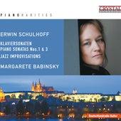 Piano Rarities: Schulhoff by Margarete Babinsky