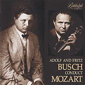 Adolf and Fritz Busch Conduct Mozart by Various Artists