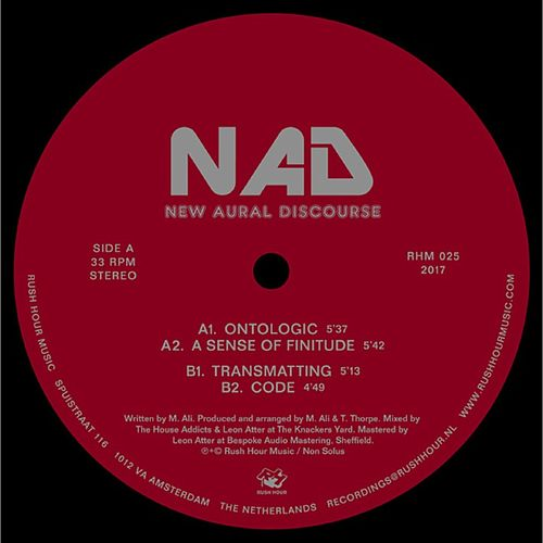 New Aural Discourse by Nad