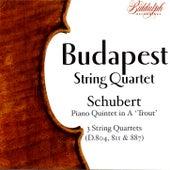 The Budapest String Quartet Plays Schubert by Budapest String Quartet