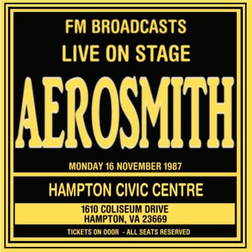 Live On Stage FM Broadcasts - Hampton Civic Centre 16th November 1987 de Aerosmith
