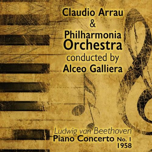 Ludwig van Beethoven - Piano Concerto No. 1 (1958) by Claudio Arrau