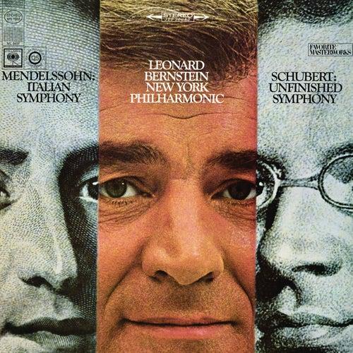 Mendelssohn: Symphony No. 4 in A Major, Op. 90 'Italian' - Schubert: Symphony No. 8 in B Minor, D. 759 'Unfinished' (Remastered) by Leonard Bernstein