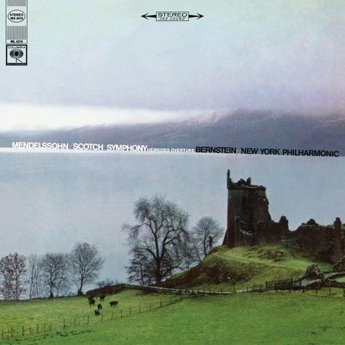Mendelssohn: Symphony No. 3 in A Minor, Op. 56 'Scottish' & Die Hebriden Overture, Op. 26 (Remastered) by Leonard Bernstein