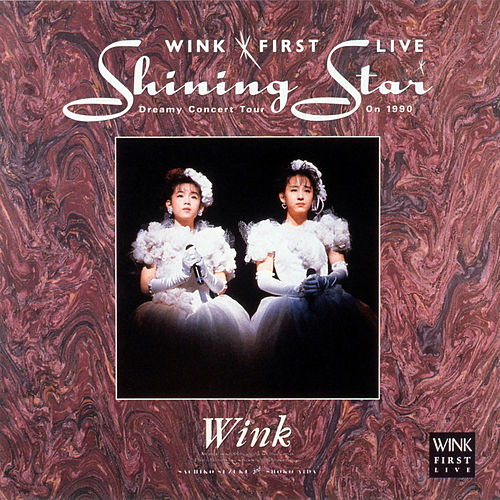 Wink First Live Shining Star - Dreamy Concert Tour on 1990 - by Wink