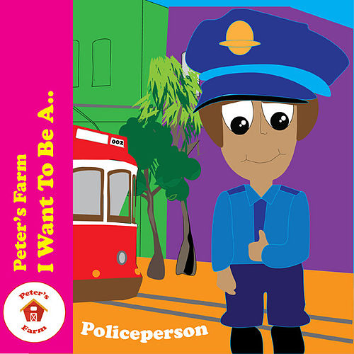 A Policeperson by Peter's Farm