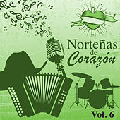 Norteñas de Corazón (Vol. 6) by Various Artists