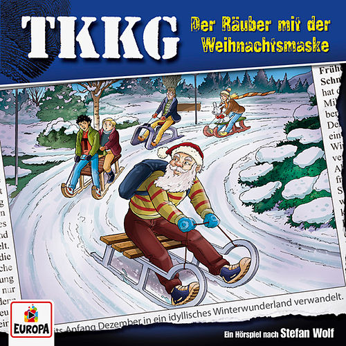 203/Der Räuber mit der Weihnachtsmaske von TKKG