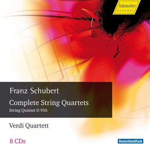 Schubert: Complete String Quartets by Verdi Quartett