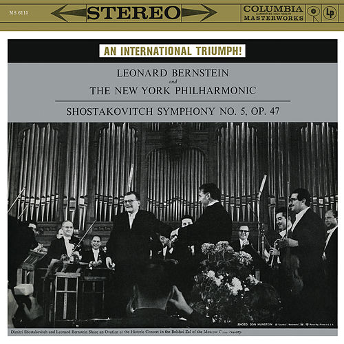 Shostakovich: Symphony No. 5 in D Minor, Op. 47 (Remastered) by Leonard Bernstein