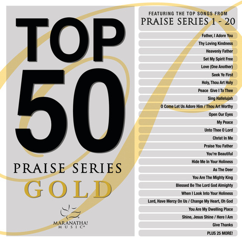 Top 50 Praise Series Gold by Marantha Music