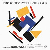 Prokofiev: Symphonies Nos. 2 & 3 by State Academic Symphony Orchestra of Russia