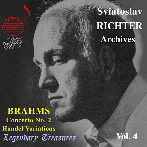 Brahms: Concerto No. 2 for Piano and Orchestra - Handel: Variations and Fugue on a Theme by Sviatoslav Richter