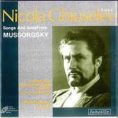 Songs and Arias from Mussorgsky by Nicola Ghiuselev
