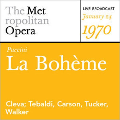 Play & Download Puccini: La  Bohème (January 24, 1970) by Various Artists | Napster