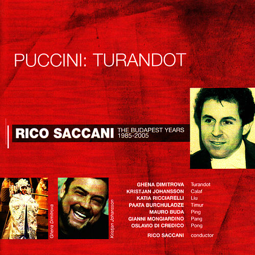Play & Download Puccini: Turandot by Rico Saccani | Napster